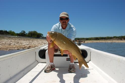 Carp on Canyon Lake