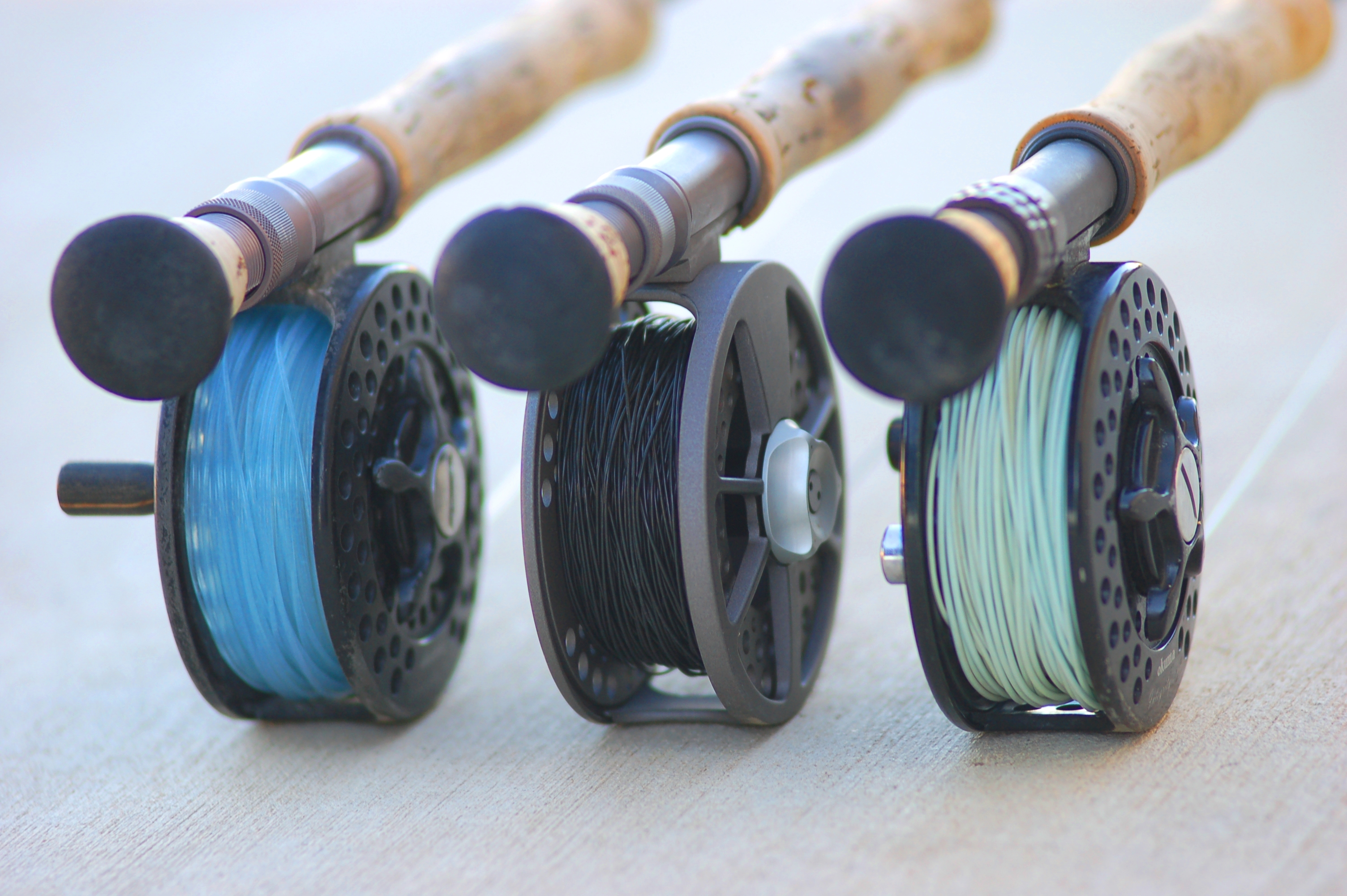 3 fly lines for the texas coast for Most expensive fishing rod