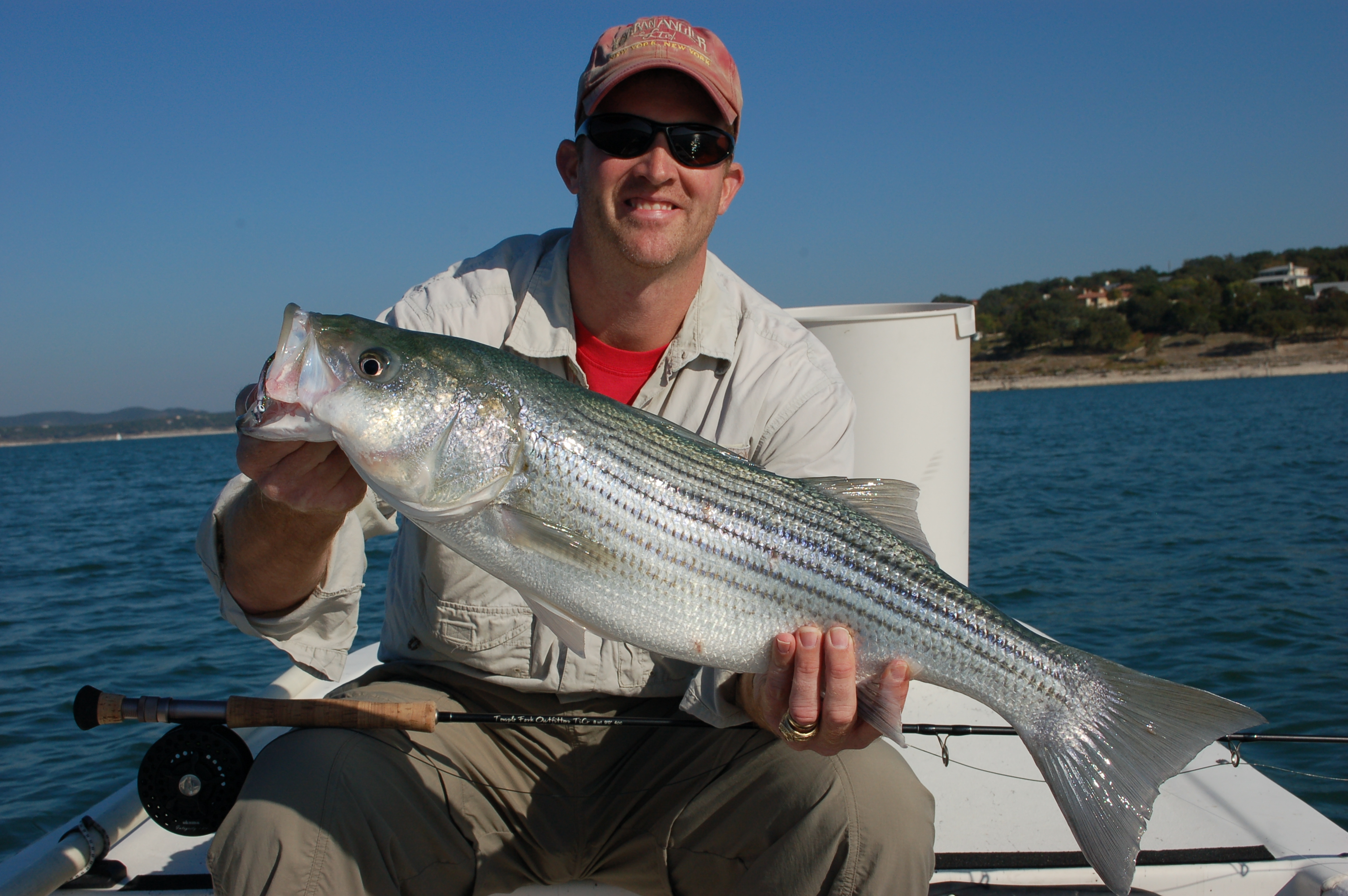Tips for fly fishing canyon lake for Bass fishing texas