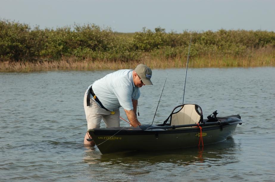 John & Native Ultimate kayak