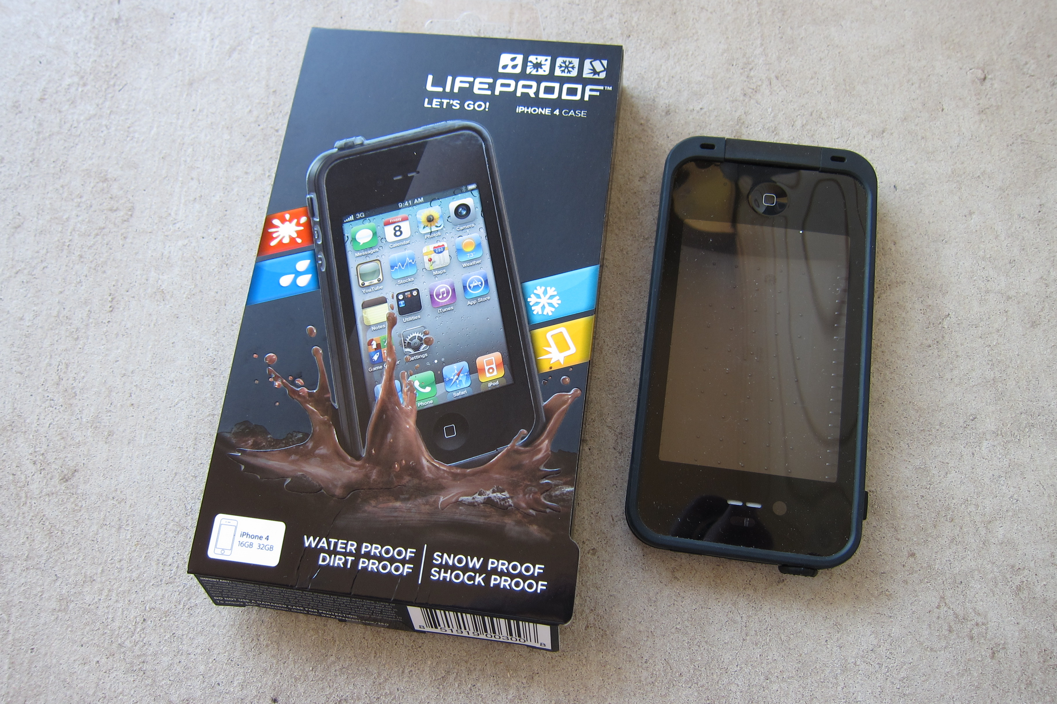 lifeproof iphone 4 case waterproof caseysmartt 15626